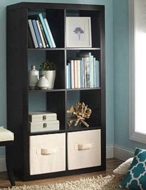 New!! Black 8 Cube Organizer, Storage Unit, Bookcase, Shelf Unit, for Sale in Phoenix, AZ