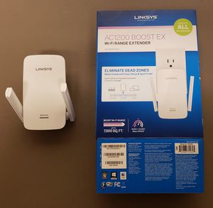Linksys AC1200 WiFi Range Extender for Sale in Millersville, MD