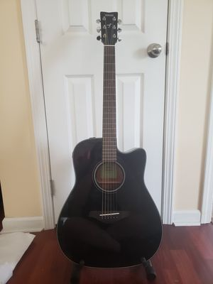 Electric Acoustic Guitar with Stand for Sale in Centre Hall, PA