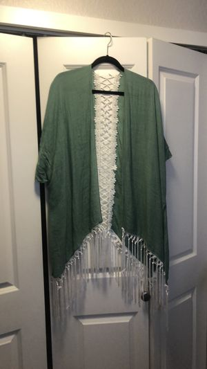 Teal Kimono/Cardigan for Sale in Ruston, WA