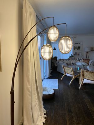 World Market Floor Lamp for Sale in Dana Point, CA