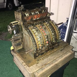 Antique National Cash Register for Sale in Modesto, CA