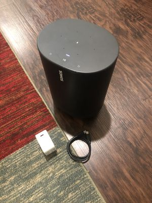 Sonos Move - Battery-Power Charger 🔌 AC Adapter Yes!! Firm pick up only for Sale in Sanger, CA