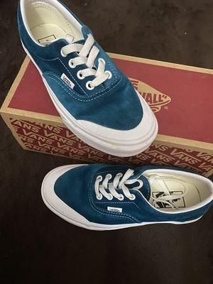 Blue velvet vans for Sale in Dallas, TX