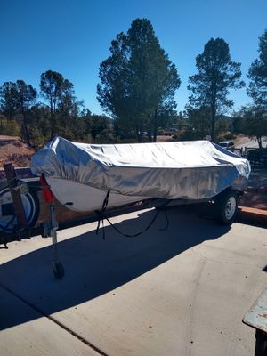 Trout boat, 14 foot, heavy duty new trolling motor. Dennis {contact info removed}. for Sale in Payson, AZ