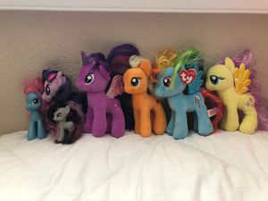 My little pony plushies for Sale in Anaheim, CA