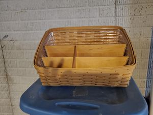 Longaberger Desk Organizer 2003 for Sale in Grove City, OH