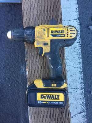 Dewalt cordless drill for Sale in Oakland, CA