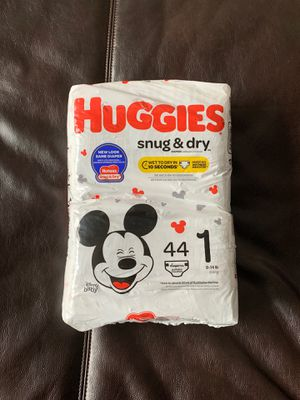$8 Huggies Diapers Size 1 —44 Count for Sale in Boston, MA