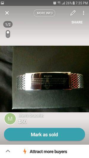 personalized bracelet for son for Sale in Wichita, KS