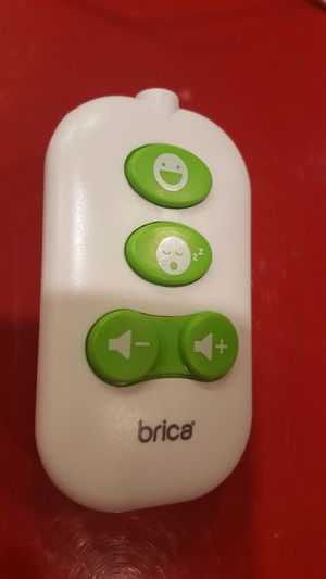 Remote control for Munchkin Brica Firefly Baby In Sight Car Seat Mirror Light Music. Excellent condition. for Sale in Long Beach, CA