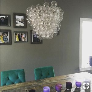 West Elm Modern Bubble Droplet Chandelier for Sale in New York, NY