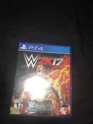 Wwe 2k17 for Sale in Kansas City, MO