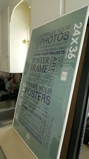 Poster Frame for Sale in Fairfax, VA