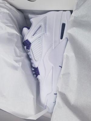 Jordan Retro 4 Metallic Purple 4s size 9 for Sale in Lewisville, TX