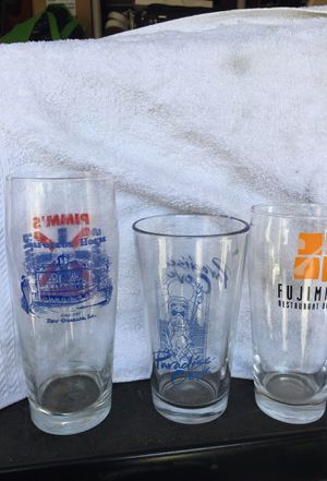Collectible beer glasses for Sale in Montebello, CA
