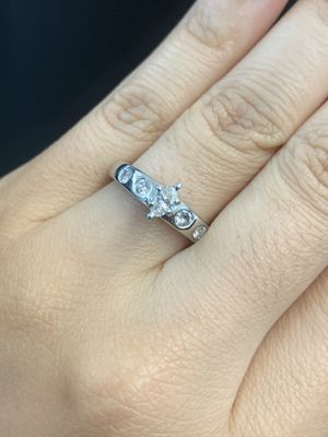 *NEW MARKDOWN*Platinum Marquis Diamond Engagement Ring for Sale in Austin, TX