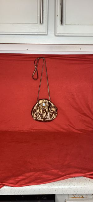 Antique/Vintage tiffany rose purse with mirror for Sale in Atlanta, GA