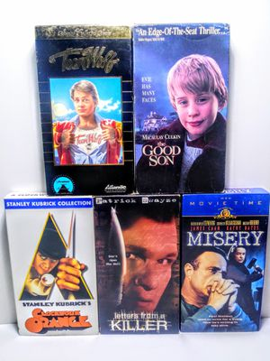 VHS Movie Lot for Sale in Garland, TX