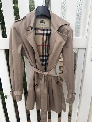 Burberry coat for Sale in Loveland, CO