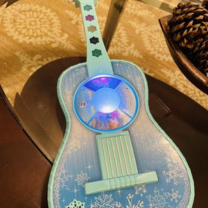 Frozen light up Guitar for Sale in Dallas, TX