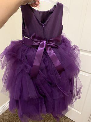 Violet High low flower girl dress for Sale in Avondale, AZ