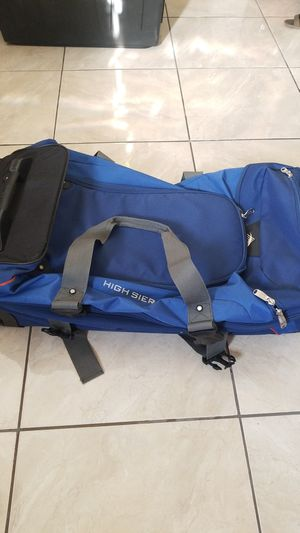 High Sierra drop bottom wheel duffle bags (2) for Sale in Claremont, CA