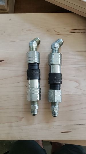 Hydraulic Quick Release set for Excavator for Sale in Puyallup, WA