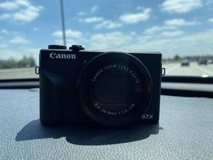 Canon G7X Mark iii for Sale in Seattle, WA