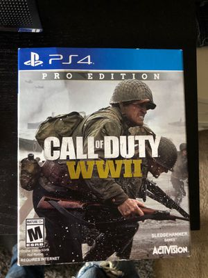 Call of duty World war 2 for Sale in San Jose, CA