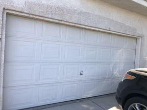 15x7 garage door used for Sale in North Las Vegas, NV