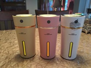 Mini Humidifier USB/Battery Aromatherapy for Sale in Corinth, TX