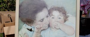Picture- Mother and Child, 1897byMary Cassatt Framed Print for Sale in Hillsboro, OR