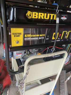Brute 8200 Watt Generator New for Sale in Valley View, OH