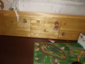 Twin bed frame with drawers underneath for Sale in Milwaukee, WI