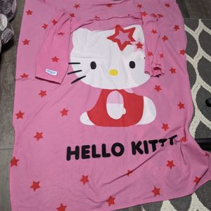 Hello Kitty Snuggie Fleece Blanket For Adults Used for Sale in Whittier, CA
