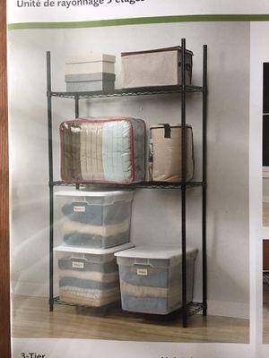 3-Tier Storage Rack for Sale in Moreno Valley, CA