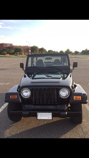 Jeep Wrangler 2001 4x4 6cL for Sale in Manassas Park, VA