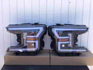 18-20 f-150 Ford 3D LED OEM Style Headlights for Sale in Lynwood, CA