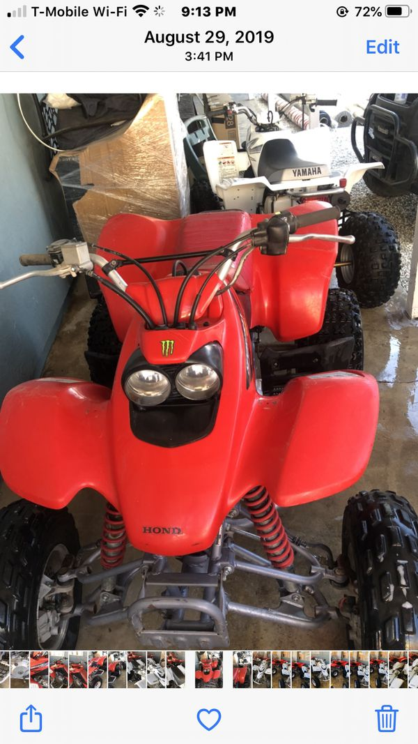2004 SPORTRAX 400 EX runs perfect new oil gas new tag to 2021 current registration ready for raiding come with one helmet free please be serious buy