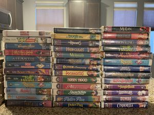 Disney VHS tapes for Sale in Chula Vista, CA