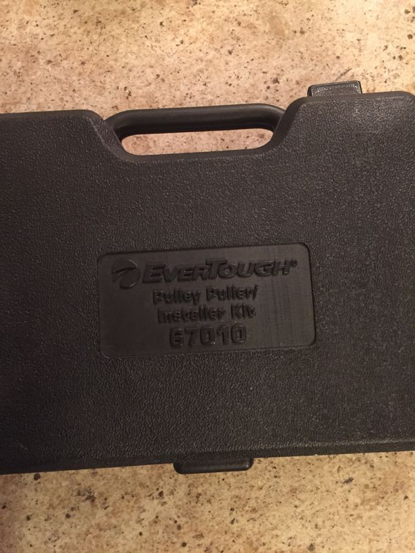 Evertough pulley removal and installation tool kit