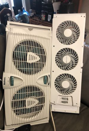 Window fans (no ac) NEEDS TO GO TODAY OR WILL BE TAKING TO DUMP. for Sale in Lakeland, FL