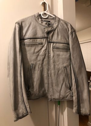 Leather motorcycle jacket for Sale in Alexandria, VA