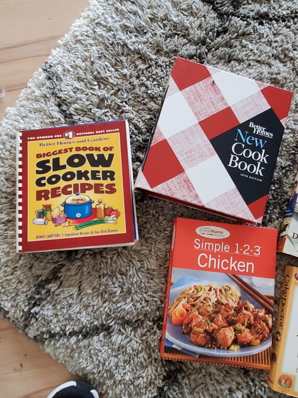 Cookbooks $2 each
