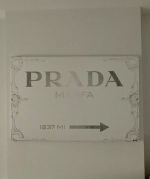 Canvas Prada Milan wall art for Sale in Washington, DC