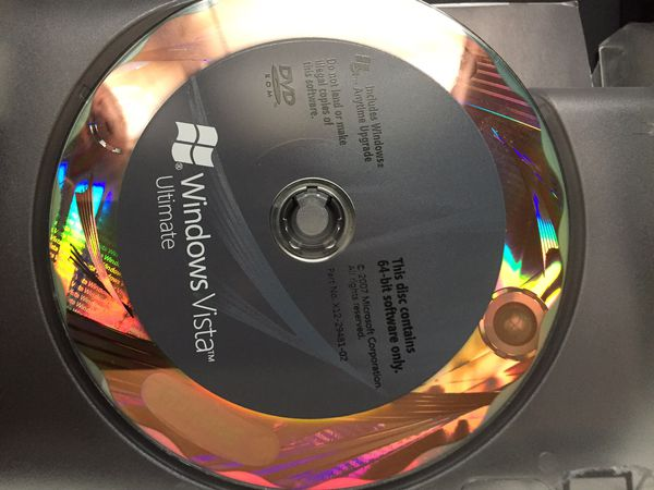 Windows Vista Ultimate oem 32/64bit