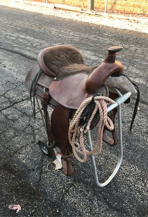 Saddle ( horse trailer horseshoes western cowboy for Sale in Downers Grove, IL