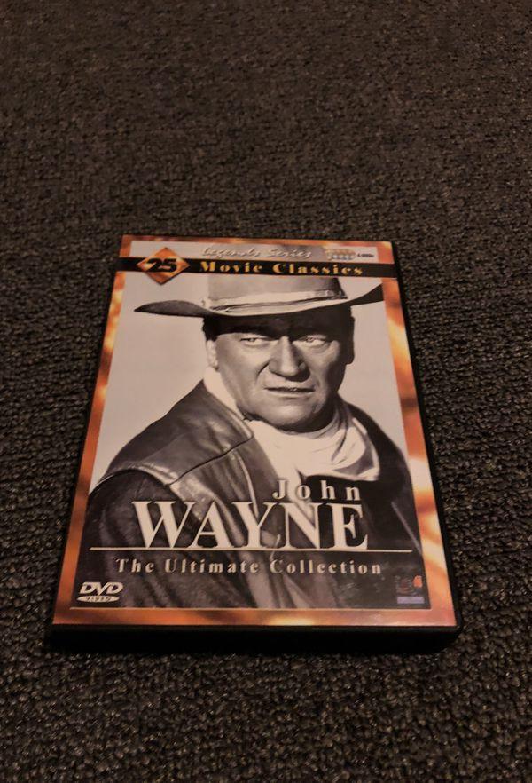John Wayne the ultimate collection 4 disc set