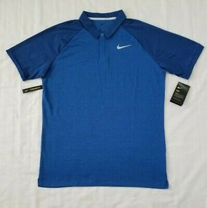 Brand new Mens Size Large Blue Nike Dri Fit Golf Polo Shirt 891190-465 retails $65 for Sale in Fairfax, VA